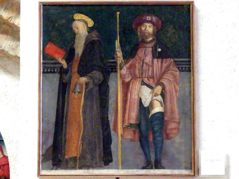 Francesco Morone: Die Heiligen Antonius und Rochus, Undatiert