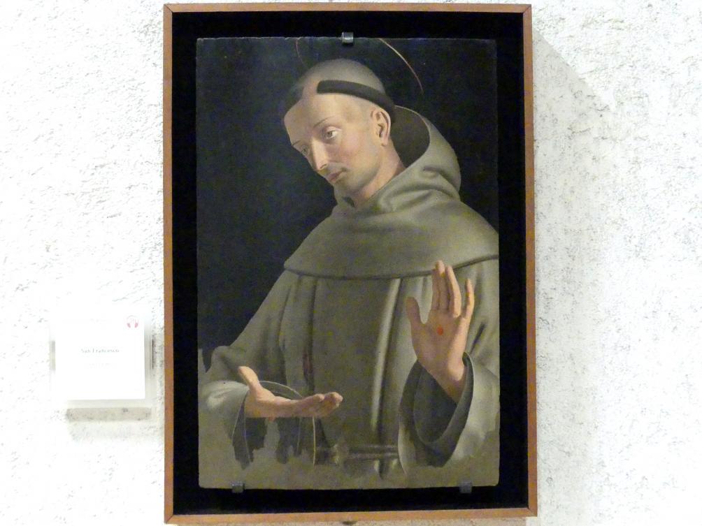 Francesco Morone: Der Heilige Franziskus, Undatiert