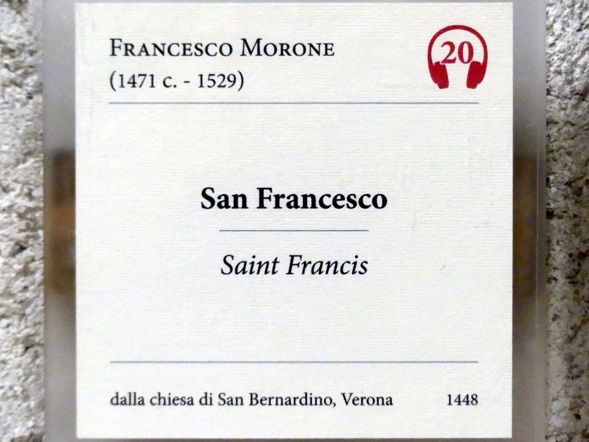 Francesco Morone: Der Heilige Franziskus, Undatiert, Bild 2/2