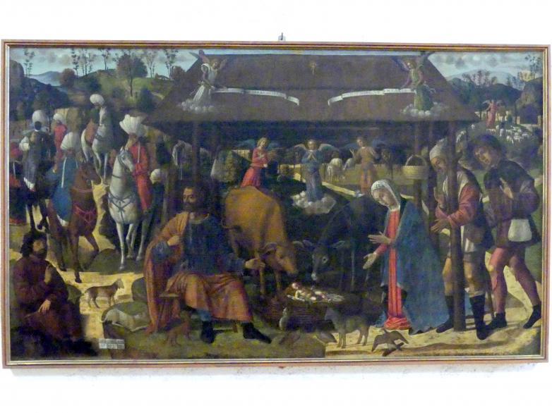 Giovanni di Niccolò Mansueti: Anbetung der Könige, Undatiert