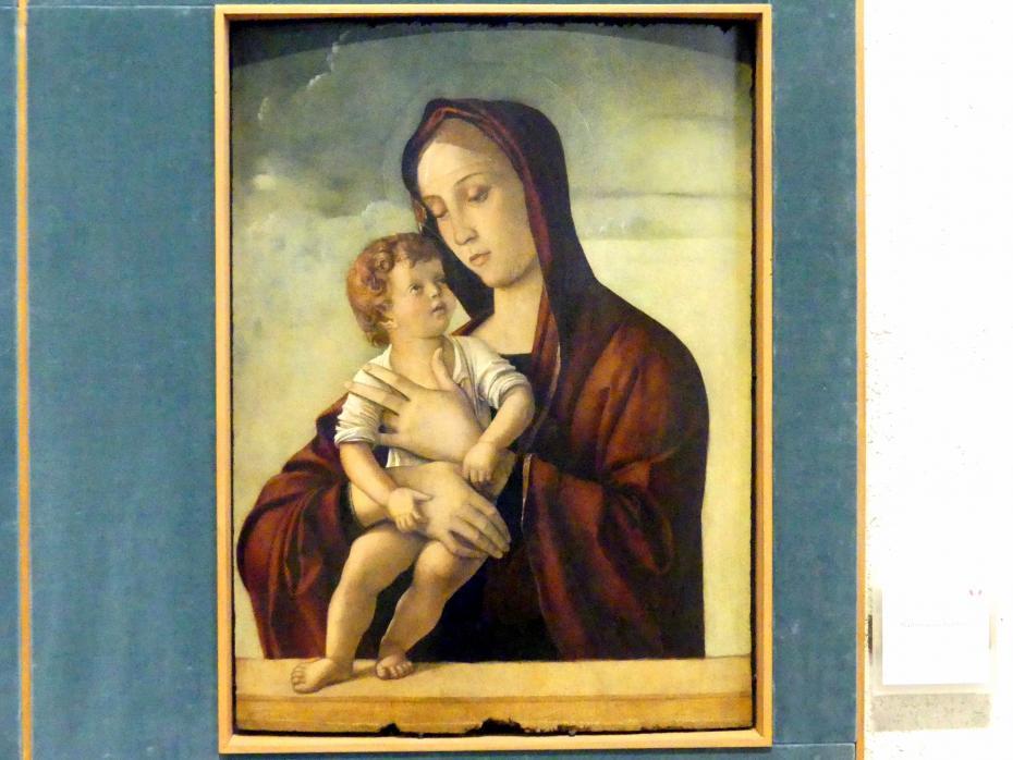 Giovanni Bellini: Maria mit Kind, Um 1470