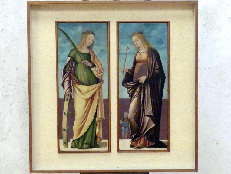 Vittore Carpaccio: Die Heiligen Katherina und Dorothea, Undatiert