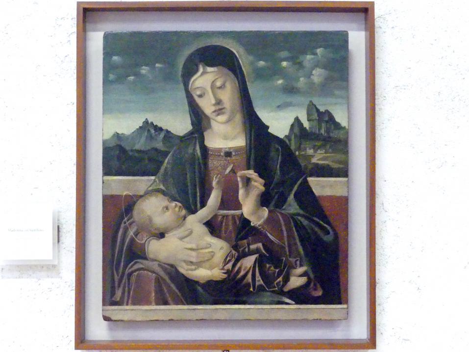 Bartolomeo Montagna: Maria mit Kind, Undatiert