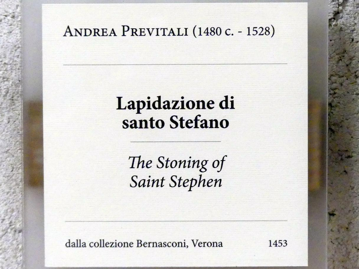 Andrea Previtali: Steinigung des hl. Stephanus, Undatiert, Bild 2/2