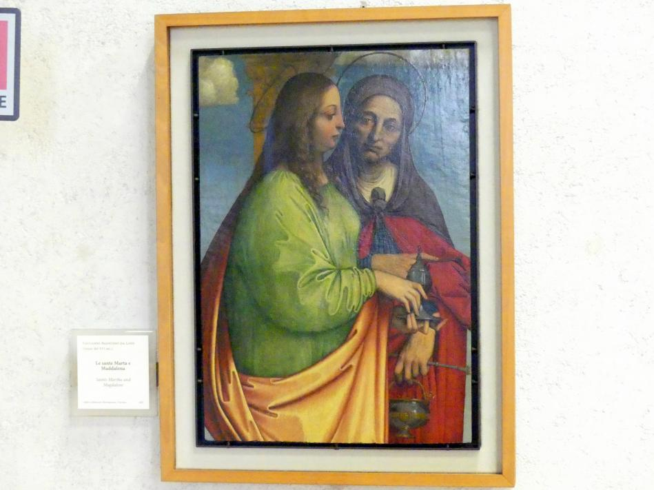 Giovanni Agostino da Lodi: Die Heiligen Martha und Magdalena, Beginn 16. Jhd.