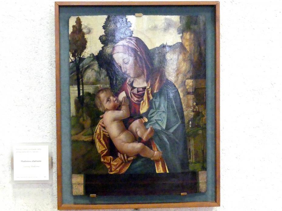 Stillende Madonna - Madonna allattante, 1. Hälfte 16. Jhd.