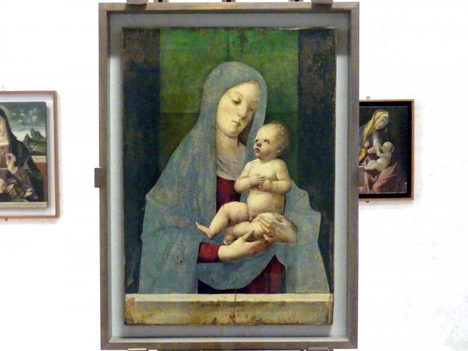 Alvise Vivarini: Maria mit Kind, Undatiert