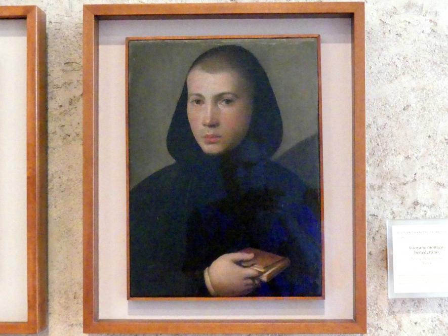 Giovanni Francesco Caroto: Junger Benediktinermönch, Undatiert
