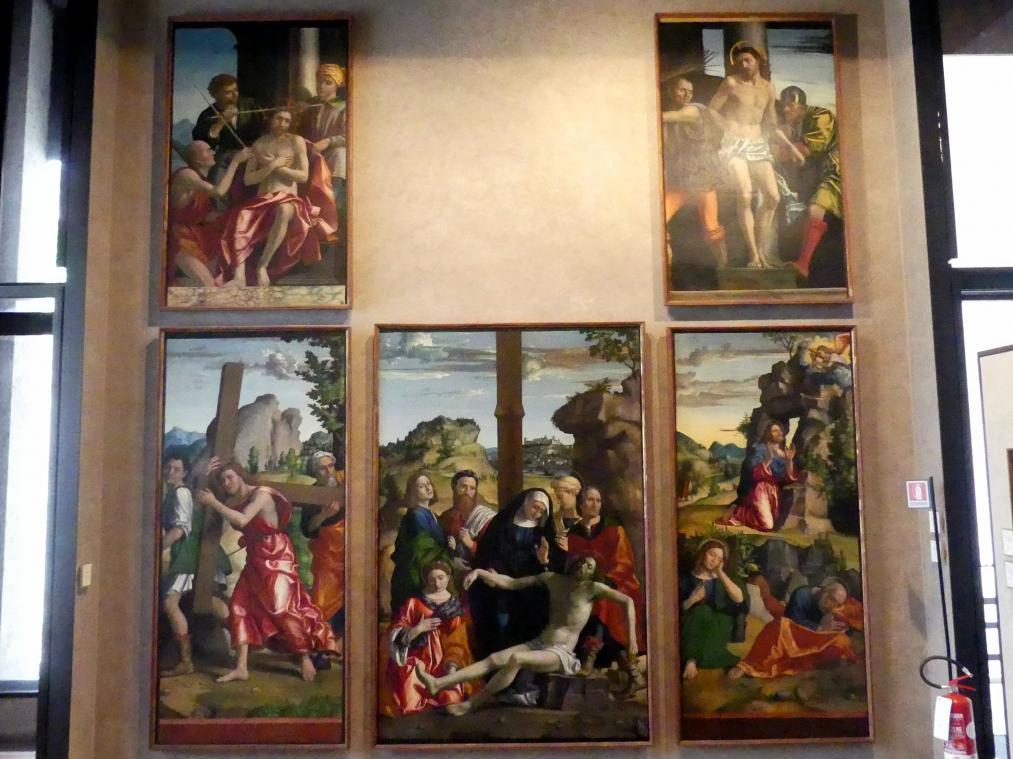 Paolo Morando (Cavazzola): Polyptichon der Passion, 1517