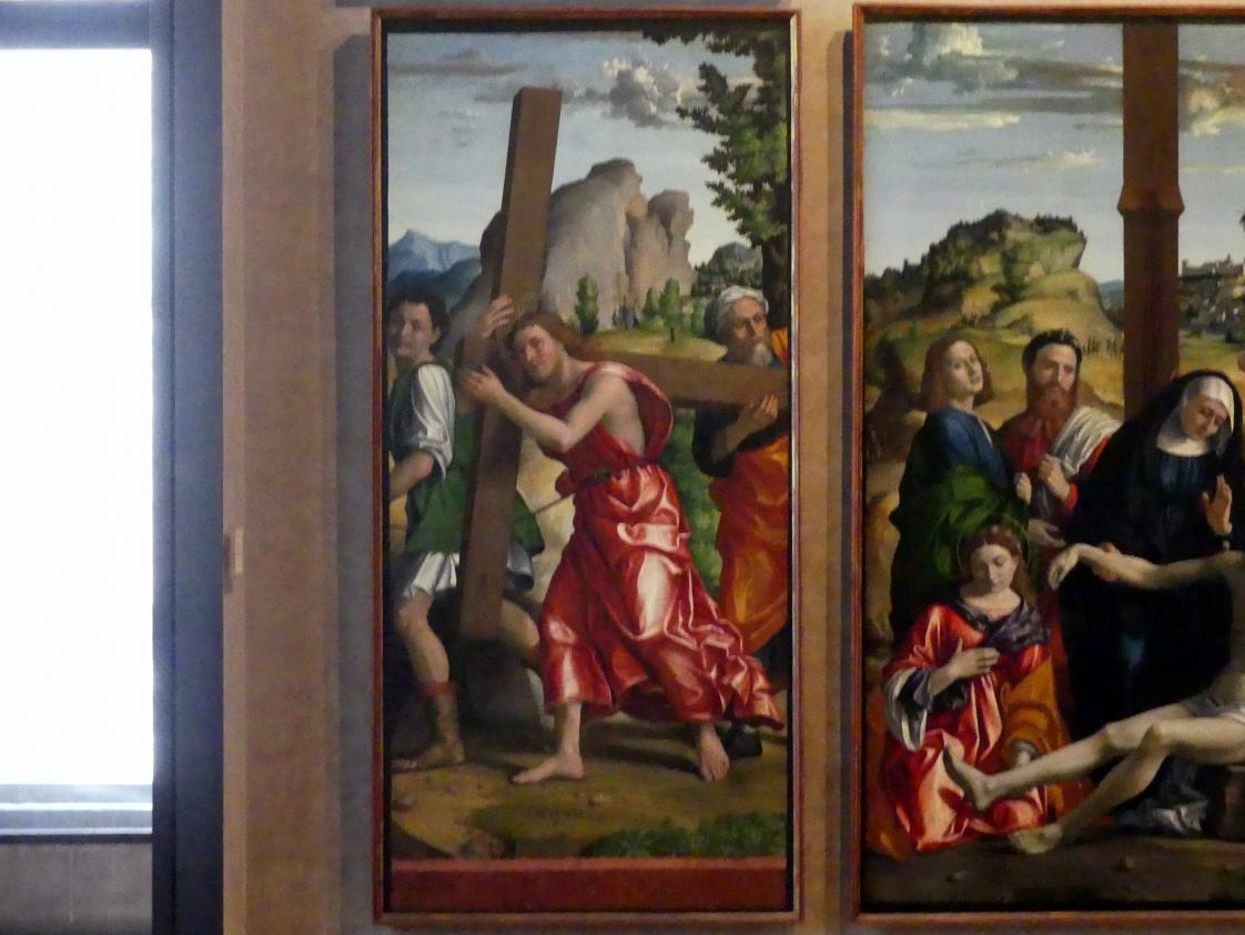 Paolo Morando (Cavazzola): Polyptichon der Passion, 1517, Bild 5/8