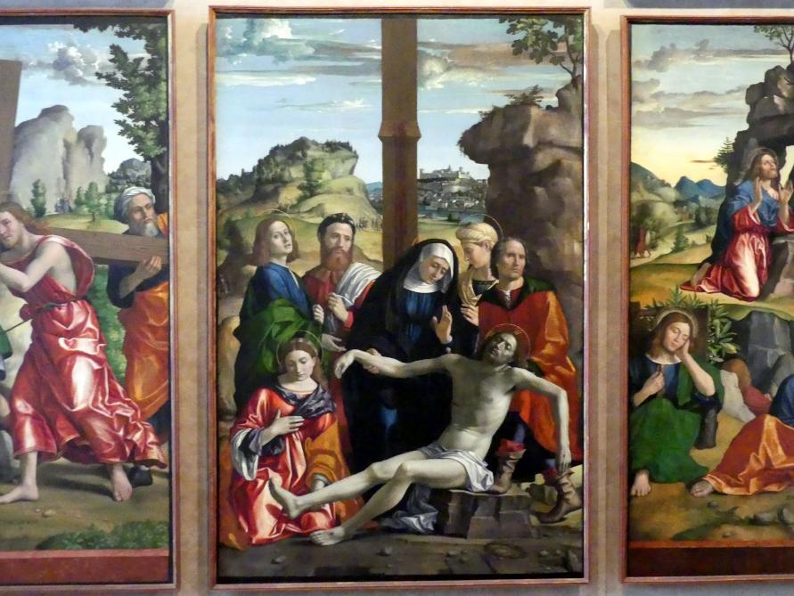Paolo Morando (Cavazzola): Polyptichon der Passion, 1517, Bild 6/8
