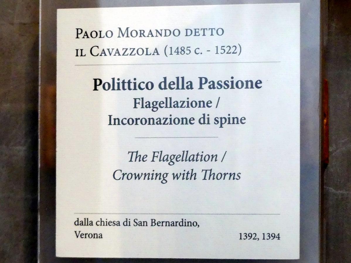 Paolo Morando (Cavazzola): Polyptichon der Passion, 1517, Bild 8/8