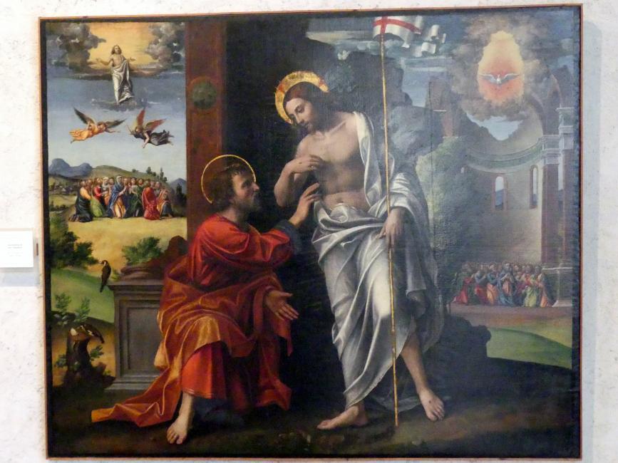 Paolo Morando (Cavazzola): Der ungläubige Thomas, Undatiert