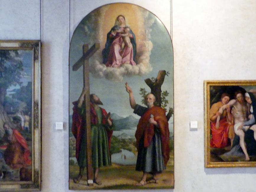 Girolamo dai Libri: Maria mit Kind und den Heiligen Petrus und Andreas, Undatiert