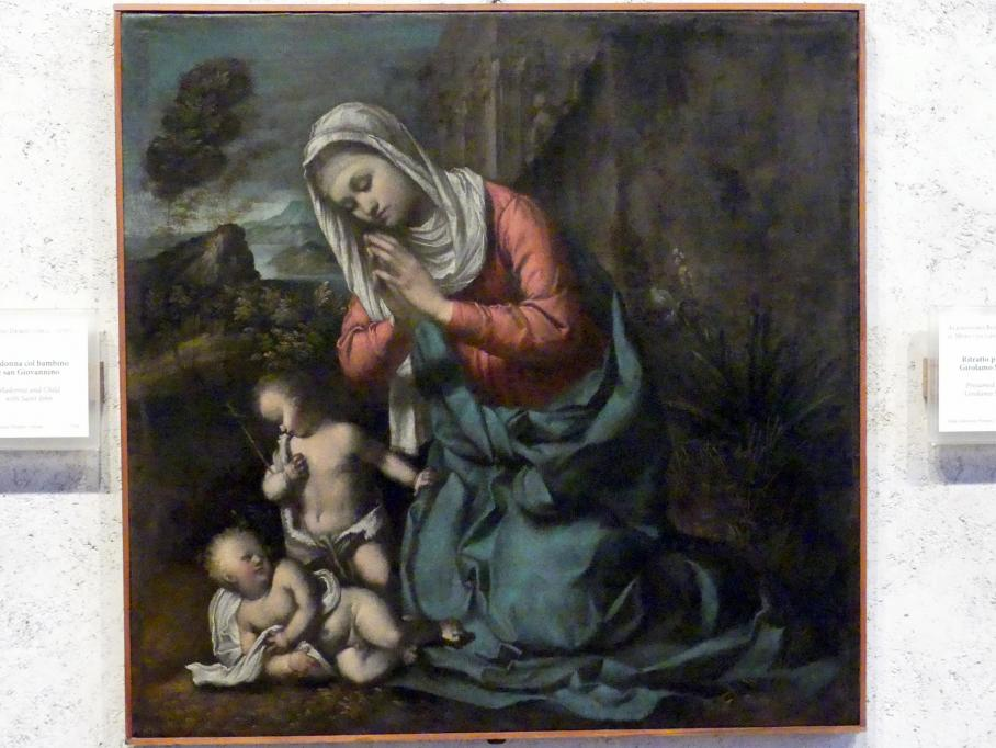 Giovanni Demio: Maria mit Kind und dem Johannesknaben, Undatiert