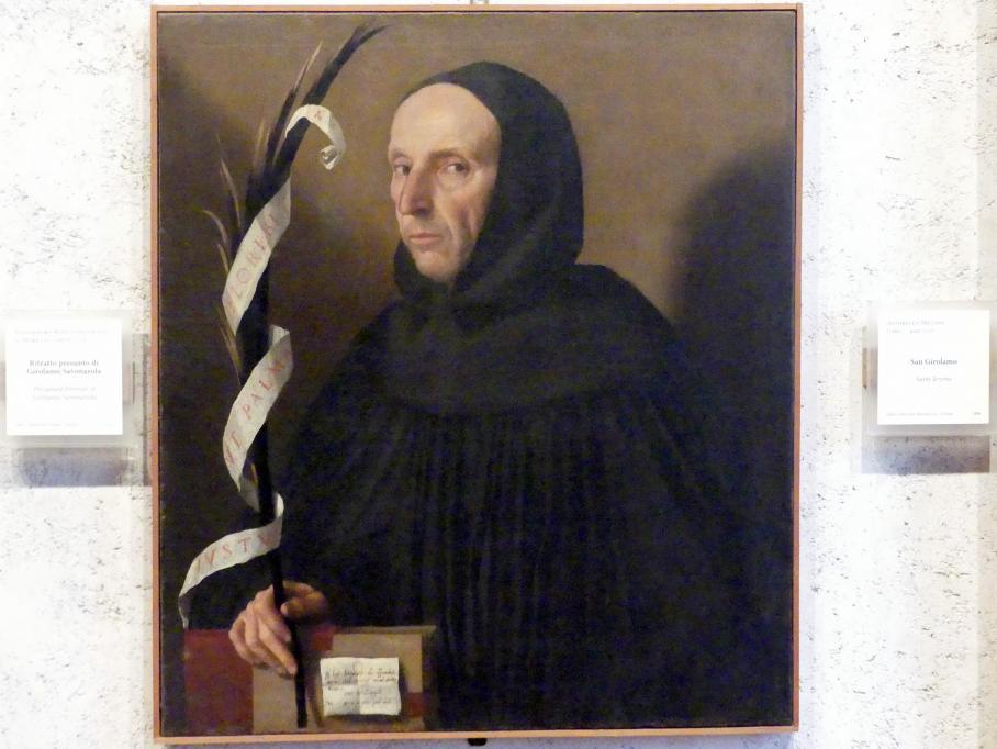 Alessandro Bonvicino (Moretto): Bildnis eines Geistlichen, 1524
