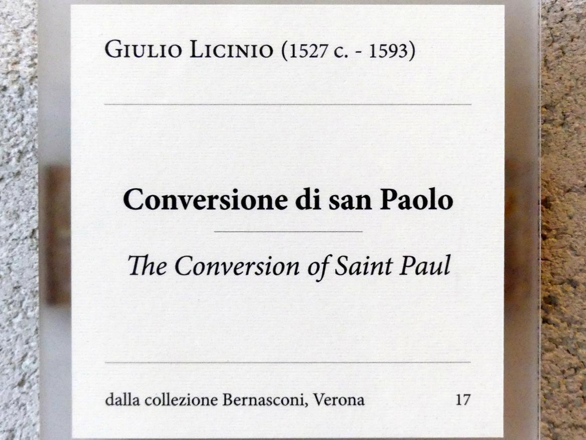 Giulio Licinio: Die Bekehrung des Heiligen Paulus, Undatiert, Bild 2/2