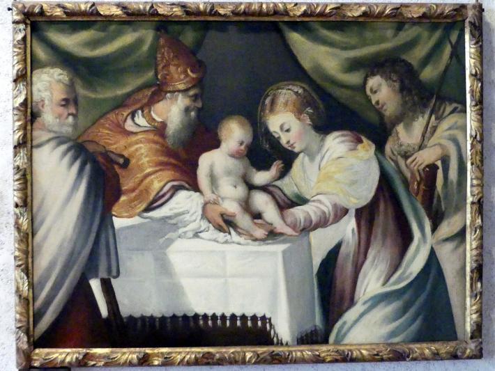 Tintoretto (Jacopo Robusti): Darbringung Christi im Tempel, Undatiert