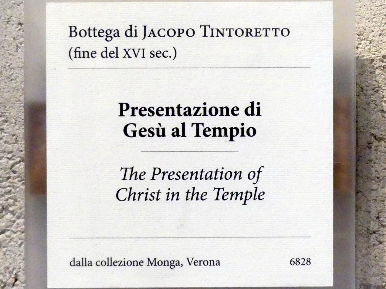 Tintoretto (Jacopo Robusti): Darbringung Christi im Tempel, Undatiert, Bild 2/2