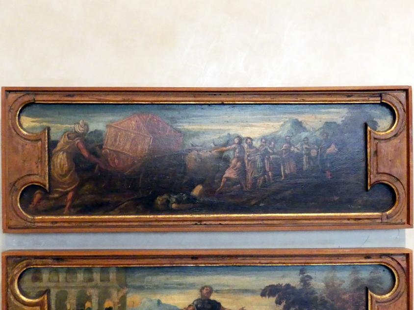 Tintoretto (Jacopo Robusti) (Werkstatt): Die Überführung der Bundeslade, Undatiert