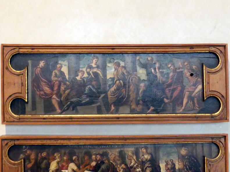 Tintoretto (Jacopo Robusti) (Werkstatt): Das Urteil Salomos, Undatiert