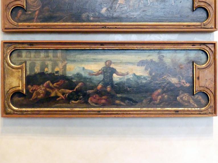 Jacopo Robusti (Tintoretto) (Werkstatt): Simson bei den Philistern, Undatiert