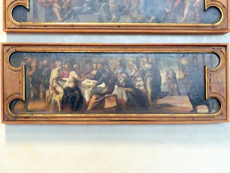Tintoretto (Jacopo Robusti) (Werkstatt): Das Gastmahl des Belsazar, Undatiert, Bild 1/2