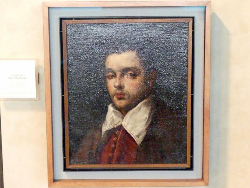 Domenico Robusti (Domenico Tintoretto): Bildnis des Marco Pasqualigo, Undatiert