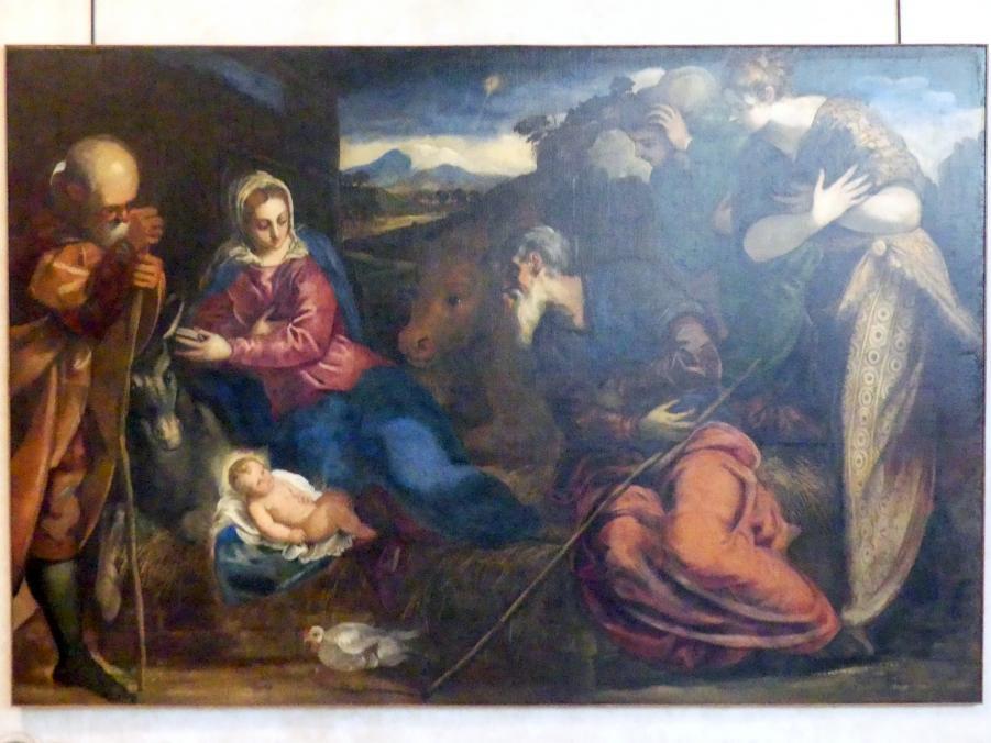 Jacopo Robusti (Tintoretto): Anbetung der Hirten, Undatiert