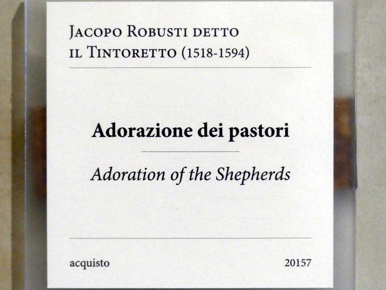 Tintoretto (Jacopo Robusti): Anbetung der Hirten, Undatiert, Bild 2/2