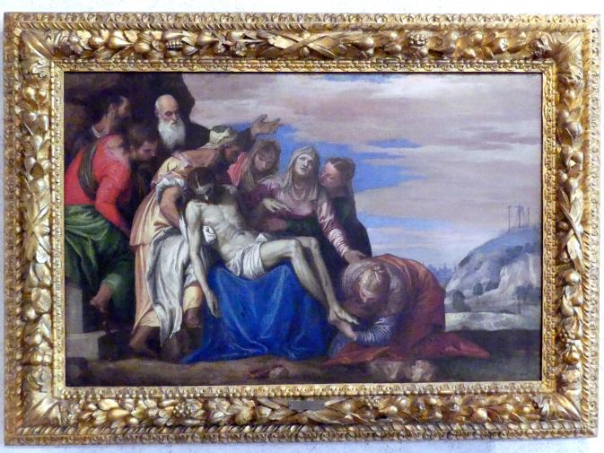 Paolo Caliari (Veronese): Kreuzabnahme Christi, Undatiert