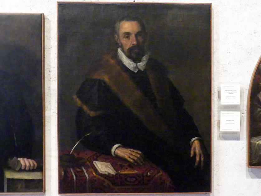 Jacopo Palma der Jüngere (Palma il Giovane / Giacomo Negretti): Bildnis eines Mannes, Undatiert