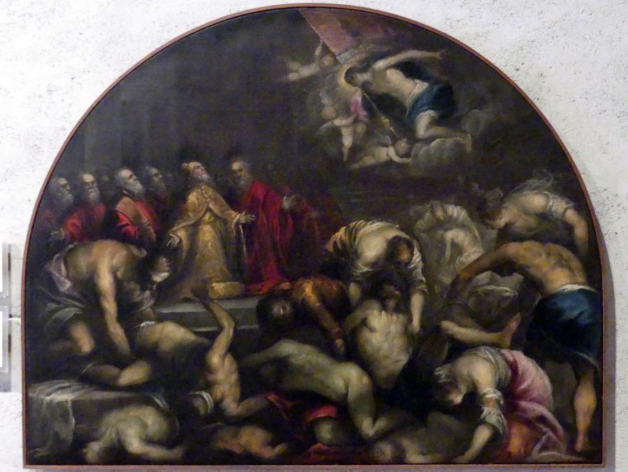 Andrea Vicentino (Andrea Michieli): Flehen um das Ende der Pest in Venedig, Undatiert, Bild 1/2
