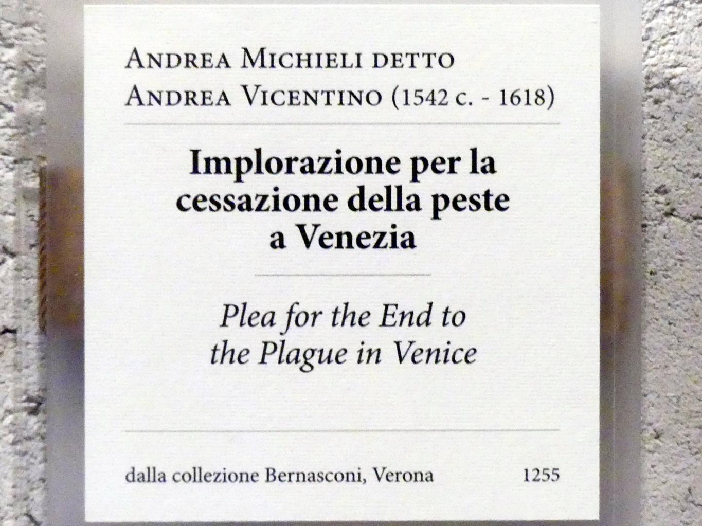Andrea Vicentino (Andrea Michieli): Flehen um das Ende der Pest in Venedig, Undatiert, Bild 2/2
