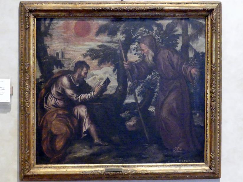 Paolo Farinato (Paolo Farinati): Die Heiligen Thaddäus und Franz von Paola, Undatiert