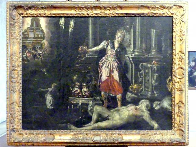 Orlando Flacco: Medea hintergeht die Töchter des Peleus, Undatiert