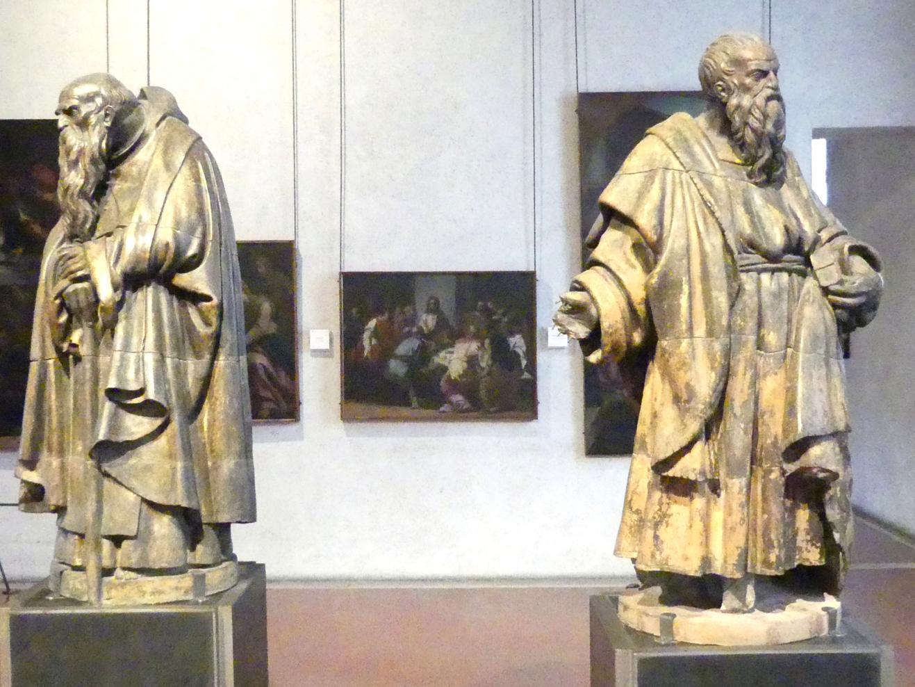 Paolo Farinato (Paolo Farinati): Die Heiligen Antonius Abbas und Bartholomäus, Undatiert