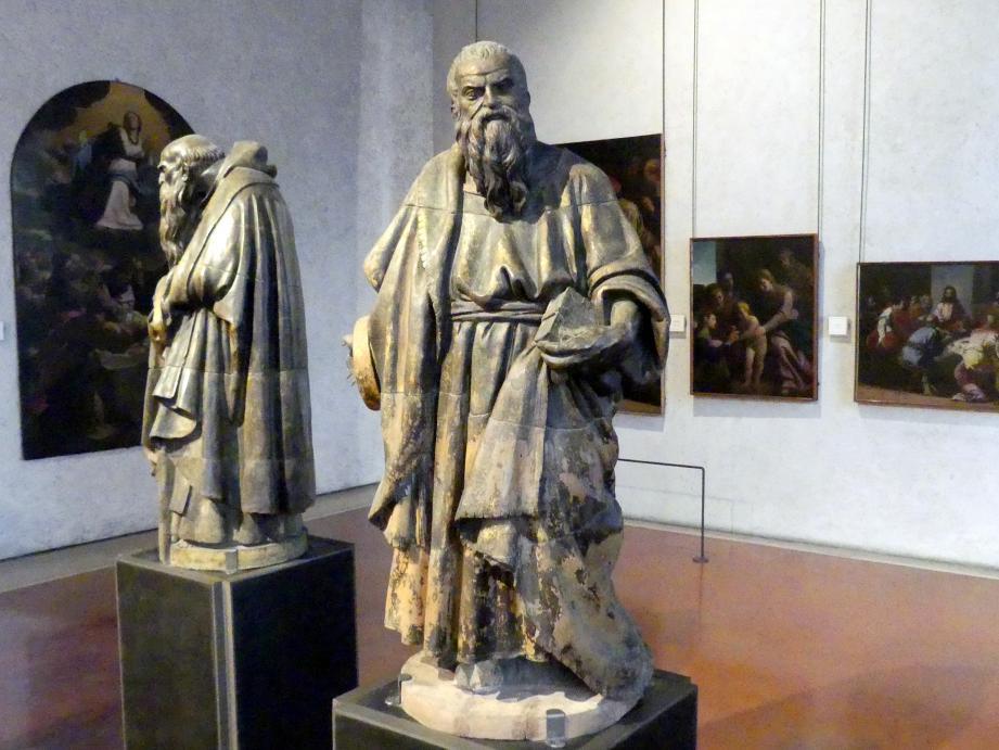 Paolo Farinato (Paolo Farinati): Die Heiligen Antonius Abbas und Bartholomäus, Undatiert, Bild 2/8