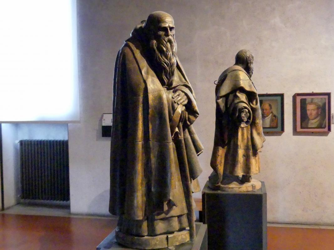 Paolo Farinato (Paolo Farinati): Die Heiligen Antonius Abbas und Bartholomäus, Undatiert, Bild 5/8
