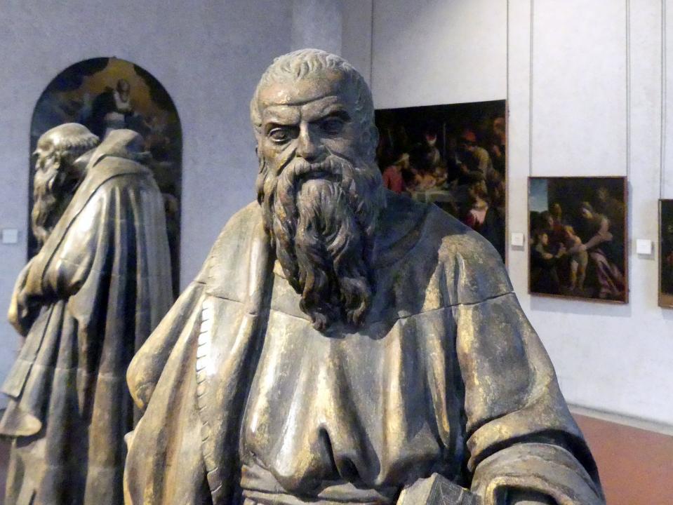 Paolo Farinato (Paolo Farinati): Die Heiligen Antonius Abbas und Bartholomäus, Undatiert, Bild 7/8