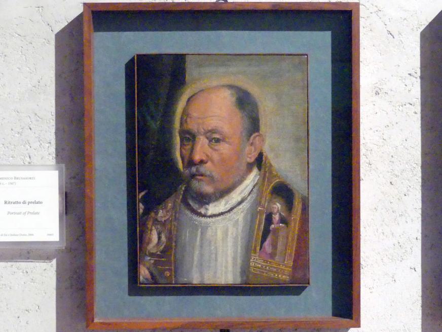 Domenico Brusasorzi: Bildnis eines Prälaten, Undatiert