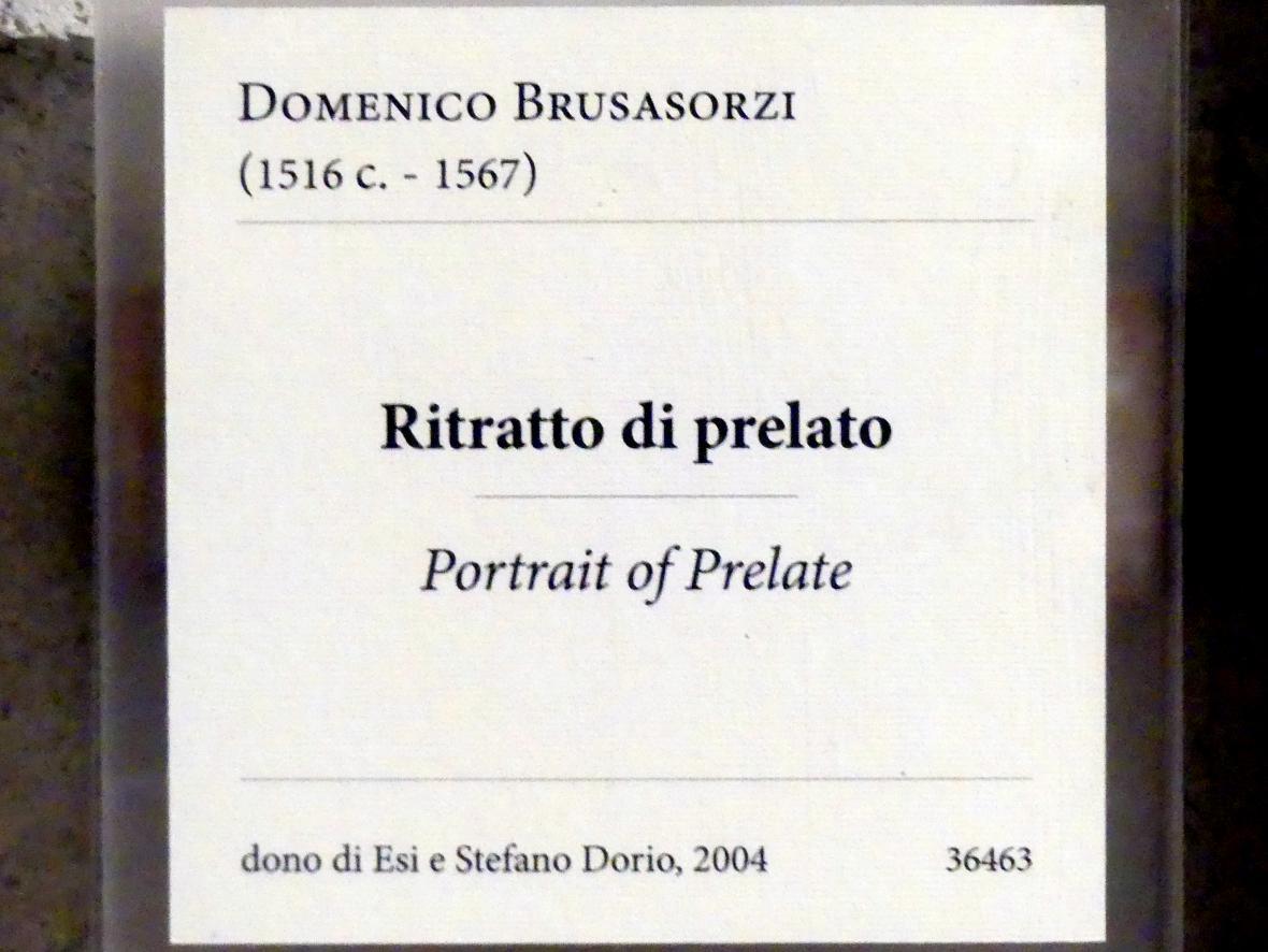 Domenico Brusasorzi: Bildnis eines Prälaten, Undatiert, Bild 2/2
