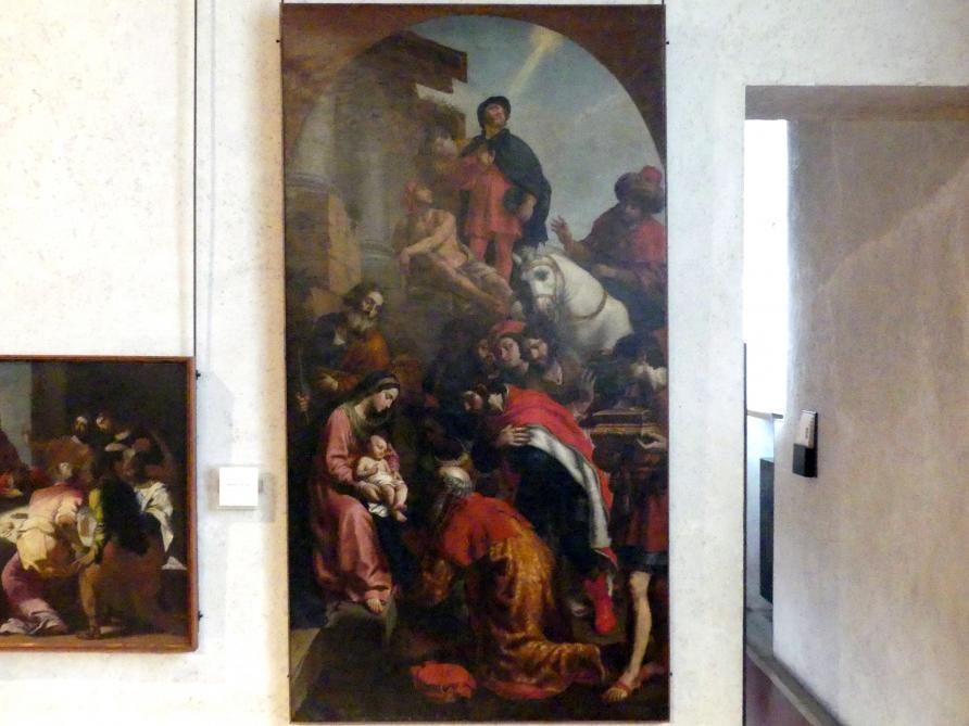 Alessandro Turchi (L'Orbetto): Anbetung der Könige, Undatiert
