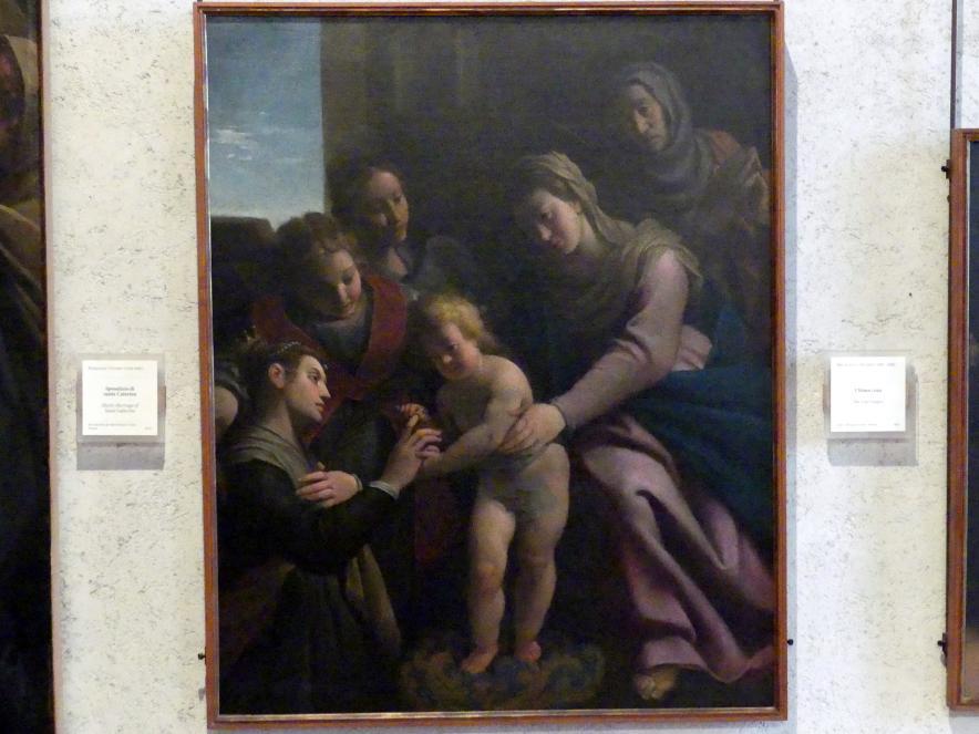 Pasquale Ottino: Mystische Vermählung der Hl. Katharina, Undatiert