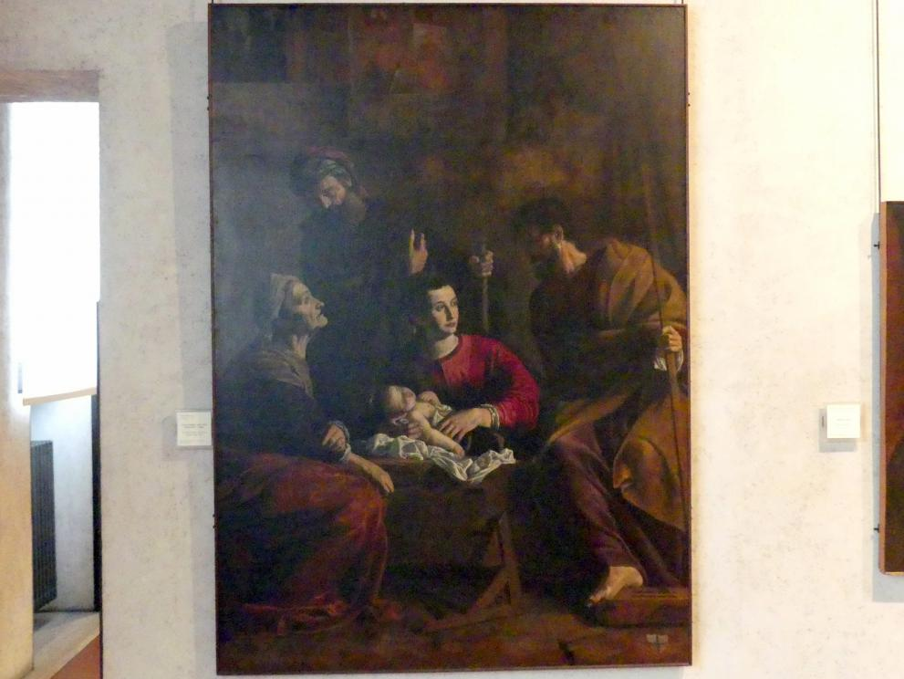 Pietro Bernardi: Die Heilige Familie mit den Heiligen Joachim und Anna, Undatiert