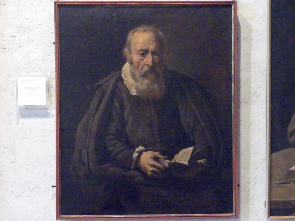 Marcantonio Bassetti: Bildnis eines lesenden alten Mannes, 1626