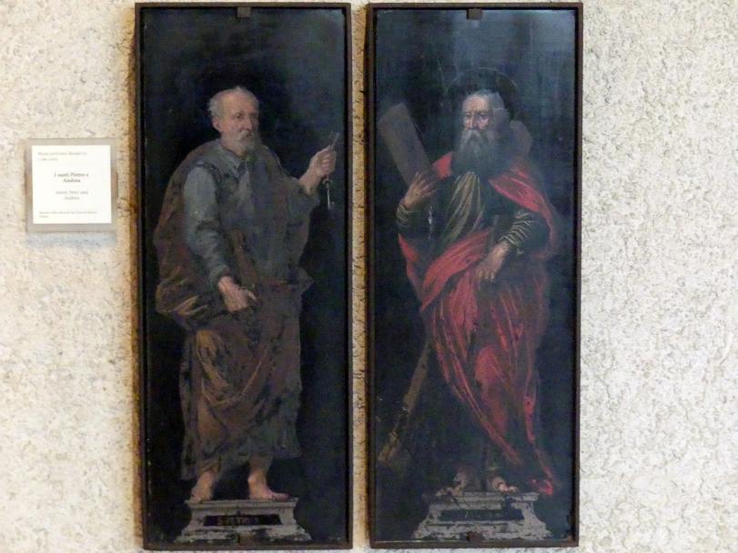 Marcantonio Bassetti: Die Heiligen Petrus und Andreas, Undatiert