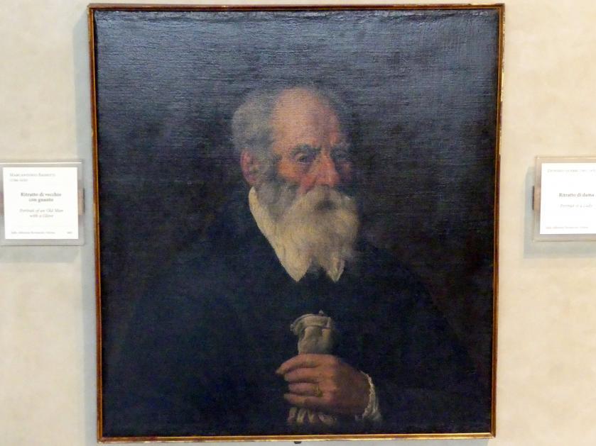 Marcantonio Bassetti: Bildnis eines alten Mannes mit Handschuh, Undatiert