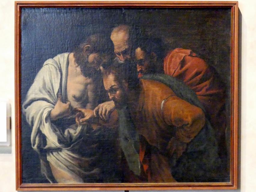Marcantonio Bassetti: Der ungläubige Thomas, Undatiert