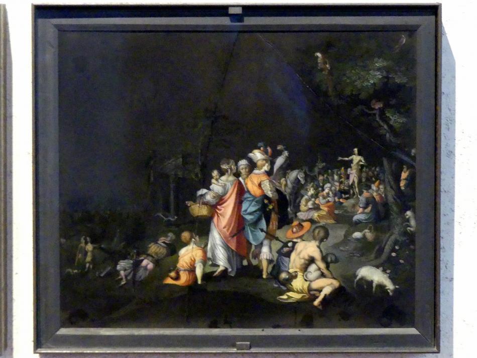 Giovanni Battista Rovedata: Predigt des Johannes des Täufers, Undatiert